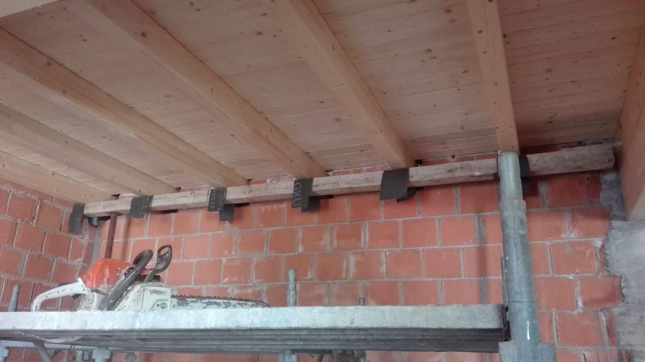 Struttura Di Un Solaio solaio in legno: esempio di progettazione strutturale